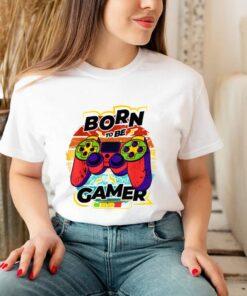 Vintage Born to be game joystick pro gamings Shirt 3