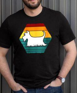 Womens Scottish terrier owner dog design for pets shirt