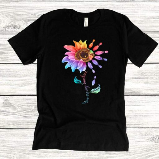 Bowling Sunflower You Are My Sunshine shirt 5