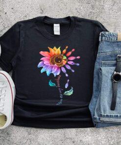 Bowling Sunflower You Are My Sunshine shirt 8