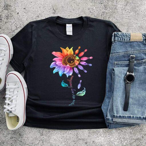Bowling Sunflower You Are My Sunshine shirt 6