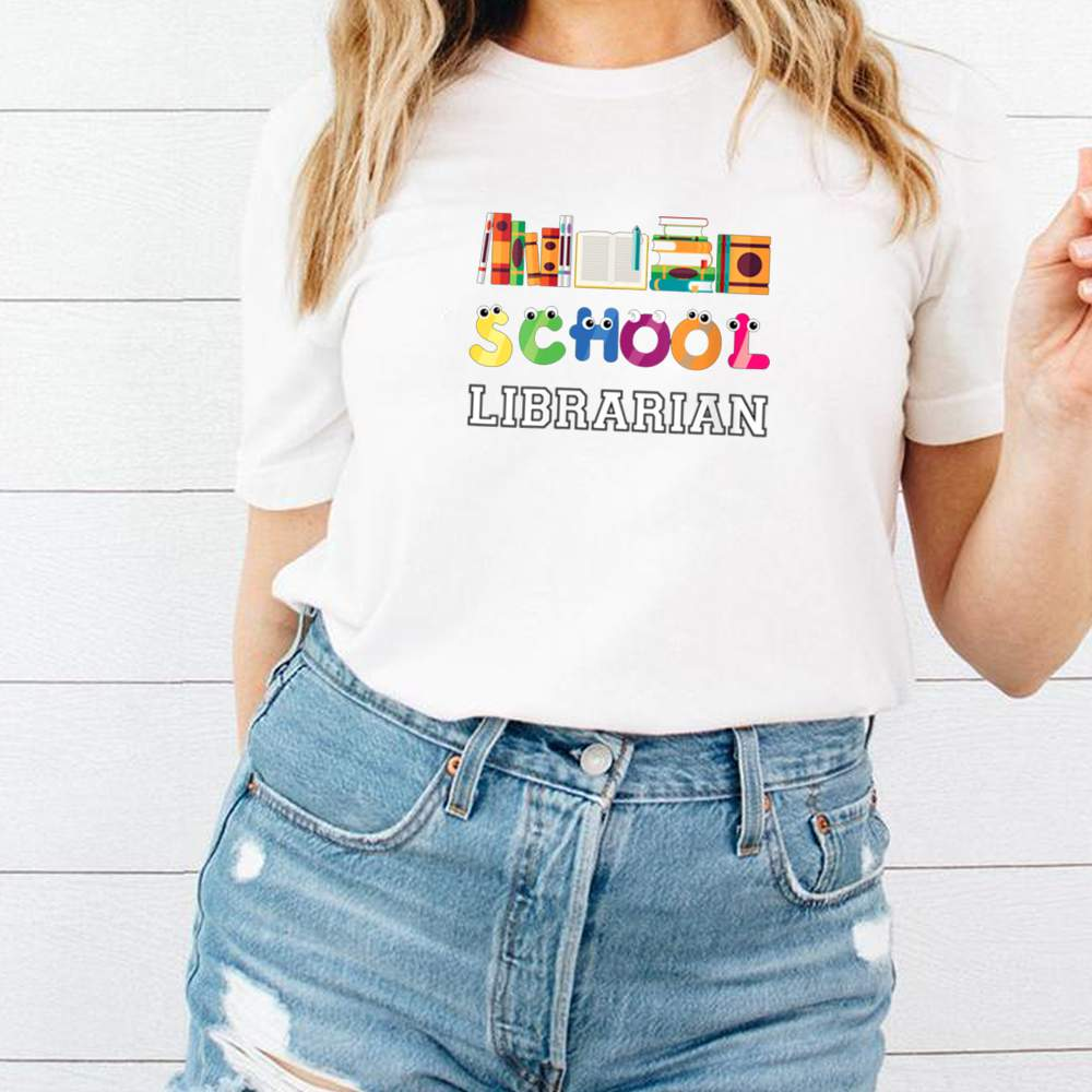 Elementary And Middle School Librarian shirt 1
