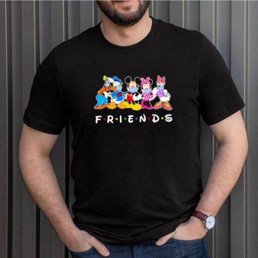 Friends Disney Mask Covid Shirt