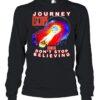 Journey escape featuring dont stop believing shirt