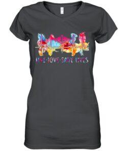 Nurse Live Love Save Lives T shirt