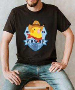 1875 Howdy shirt