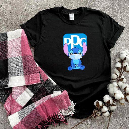 Baby Stitch face mask hug PPG logo shirt