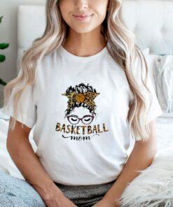 Basketball mom lepoard shirt
