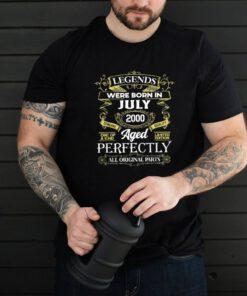 Legends Were Born In July 2000 21Th Birthday shirt