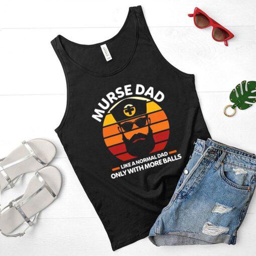New York Baseball Taijuan Walker throw ball signature shirt Murse Dad Like A Normal Dad Only With More Balls Rn T-shirt