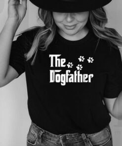 The Dogfather T Shirt Dad Fathers Day Gift Dog Lover