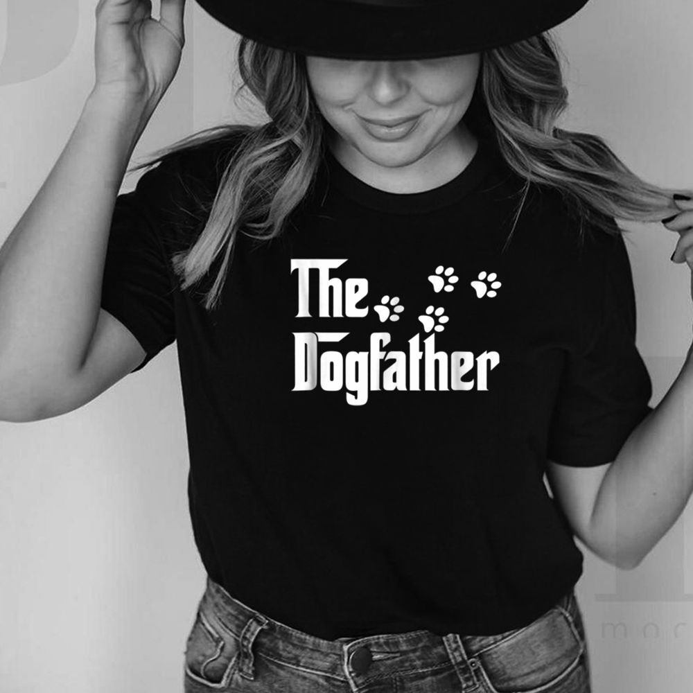 The Dogfather T Shirt Dad Fathers Day Gift Dog Lover 9
