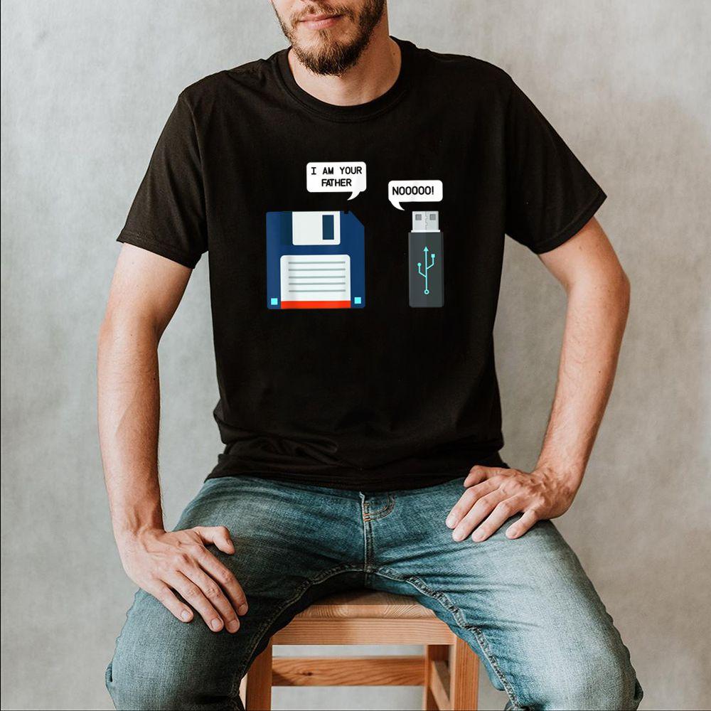 USB Flash Drive Floppy Disk USB Im Your Father Stick TShirt T Shirt