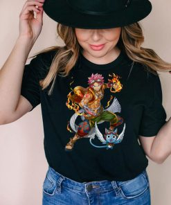 Anime fairy Kawaii Otaku tail Japanese Natsu Waifu Dragneel T Shirt