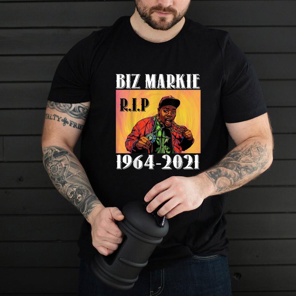 B.i.z M.ar.ki.e R.ip 1964-2021 shirt