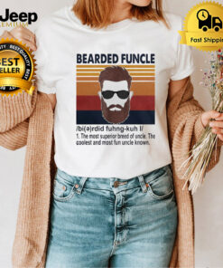 Mens Bearded Funcle Shirt Funny Uncle Definition Classic T-Shirt