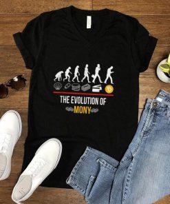 Bitcoin The Evolution Of Money Btc Elon Musk T Shirt