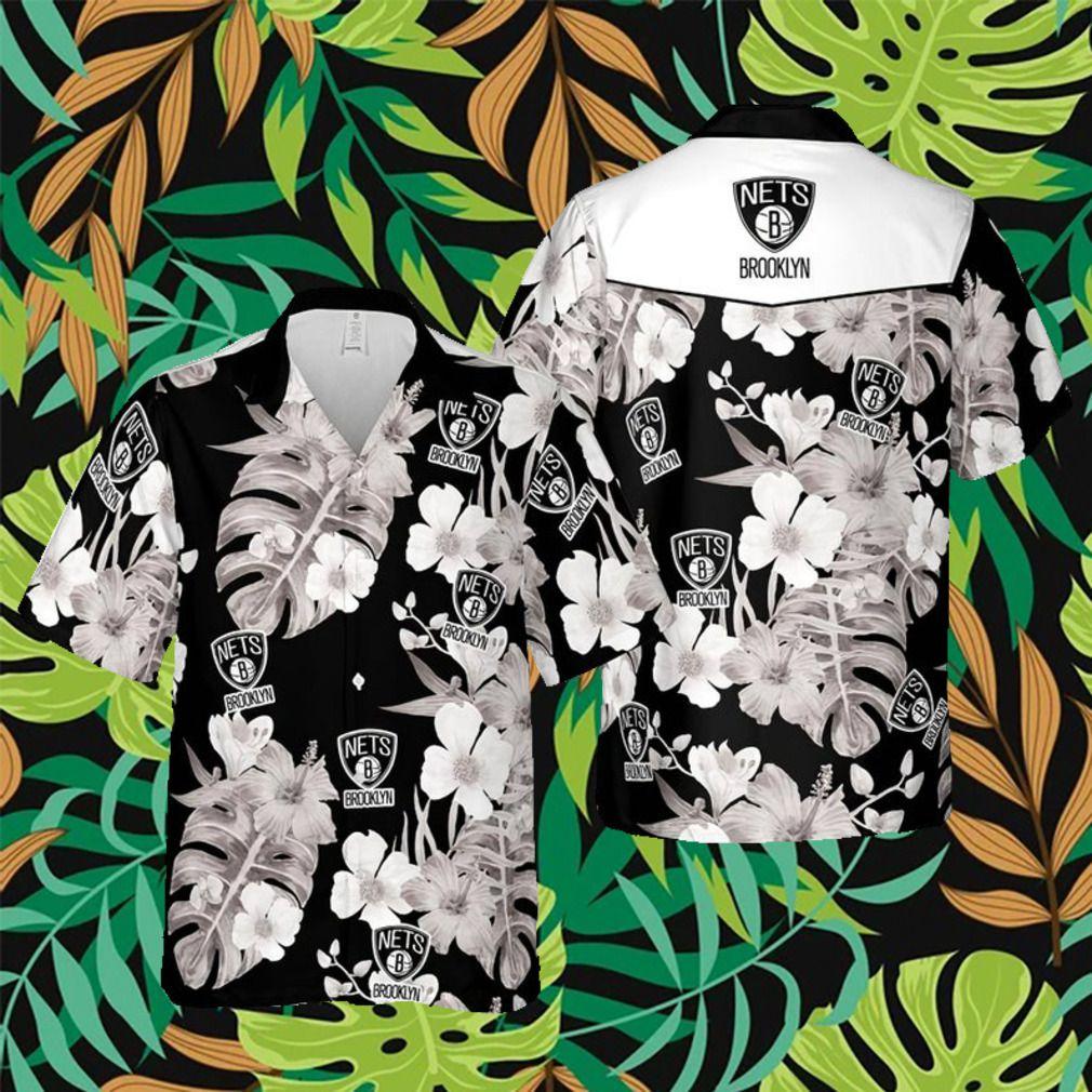 Brooklyn Nets NBA Hawaii Floral Hawaii Shirt 2