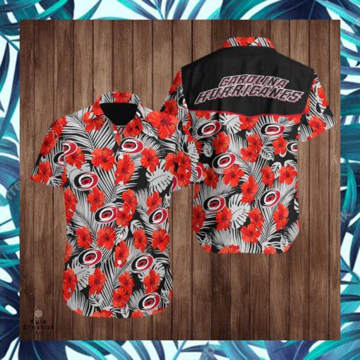 Carolina Hurricanes Logo Nhl Hockey Sports Cool Hawaii Shirt