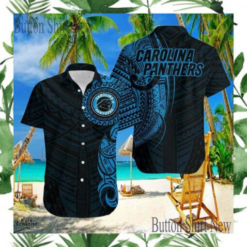 Carolina Panthers 9 Logo Nfl Sports Football Cool Hawaii Shirt