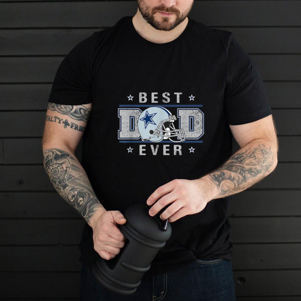 Dallas Fan Cow.boys Best Dad Ever Father T-Shirt