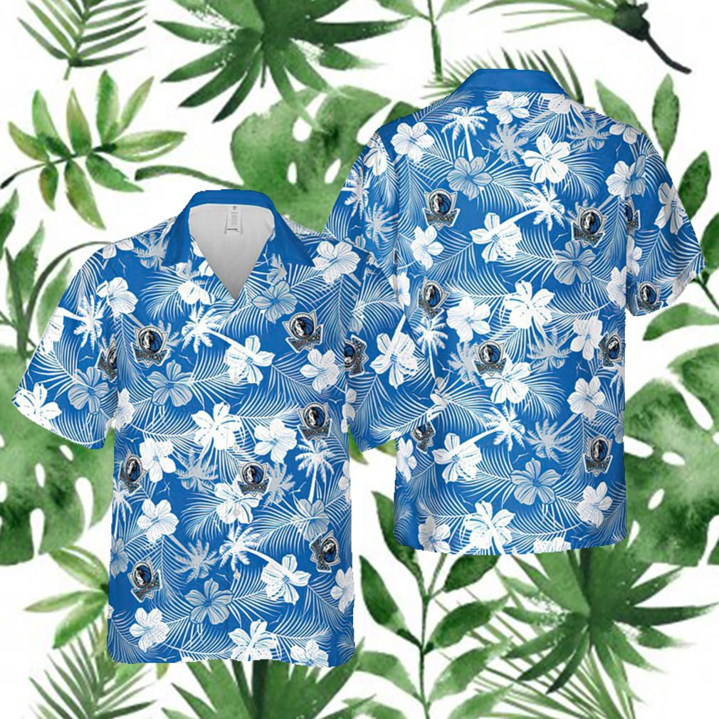 Dallas Mavericks NBA Hawaii Floral Hawaii Shirt 1