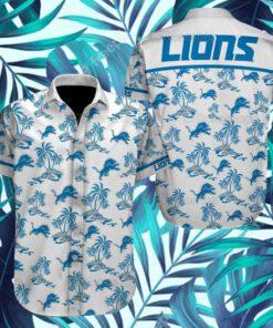 Detroit Lions NFL Hawaiian Shirts 9