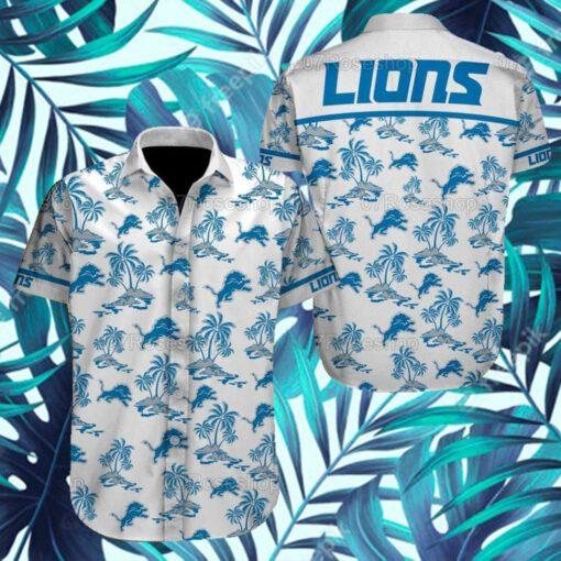 Detroit Lions NFL Hawaiian Shirts 6