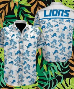 Detroit Lions NFL Hawaiian Shirts 13
