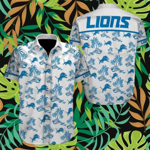 Detroit Lions NFL Hawaiian Shirts 8
