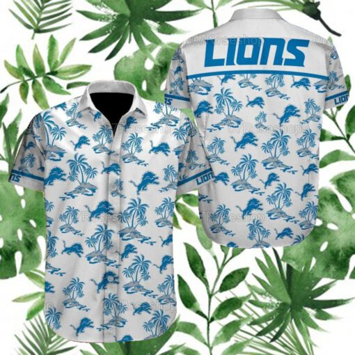 Detroit Lions NFL Hawaiian Shirts 5