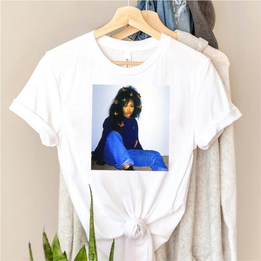 Graphic Szas Distressed Arts Costume American Singers Music T shirt