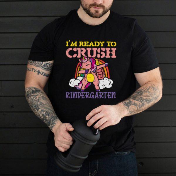 Im Ready To Crush Kindergarten Unicorn Dab Rainbow Girls shirt