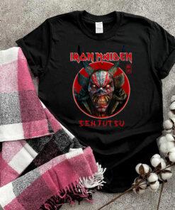 Iron Maiden - Senjutsu Eddie Face Circle T-Shirt