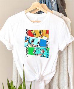Kanto Japanese Pokemon shirt