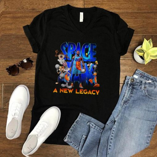 Movie Space Jam Legacy Tune Squad Basketball Poster T Shirt