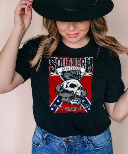 Southern dont tread on me shirt