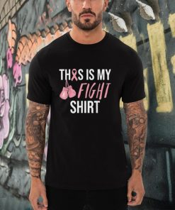 This Is My Fight Breast Cancer Awareness Pink Ribbon T Shirt