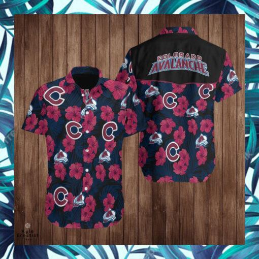 Colorado Avalanche Logo Nhl Hockey Sports Hawaii Shirt