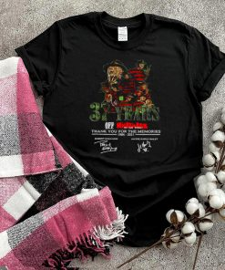37 Years Off Nightmare On Elm Street 1984 2021 Thank You For The Memories Signatures T shirt