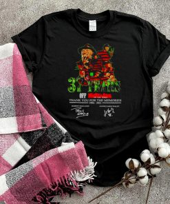 37 years of Nightmare on Elm Street thank you for the memories shirt
