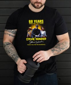 60 Years 1961 2021 Stevie Wonder Signature Thank You For The Memories T shirt