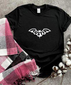 AUSTIN BAT Austin TX Bat Logo Design shirt