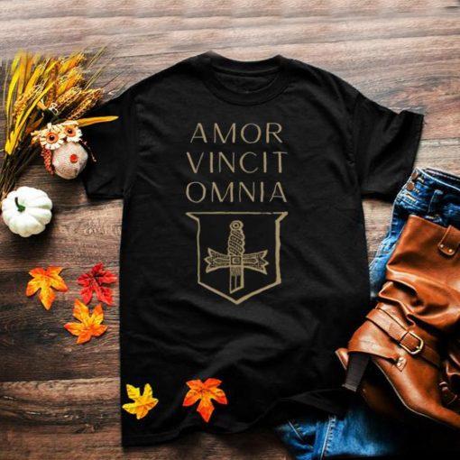 Amore Vincit Omnia Dark Academia T Shirt