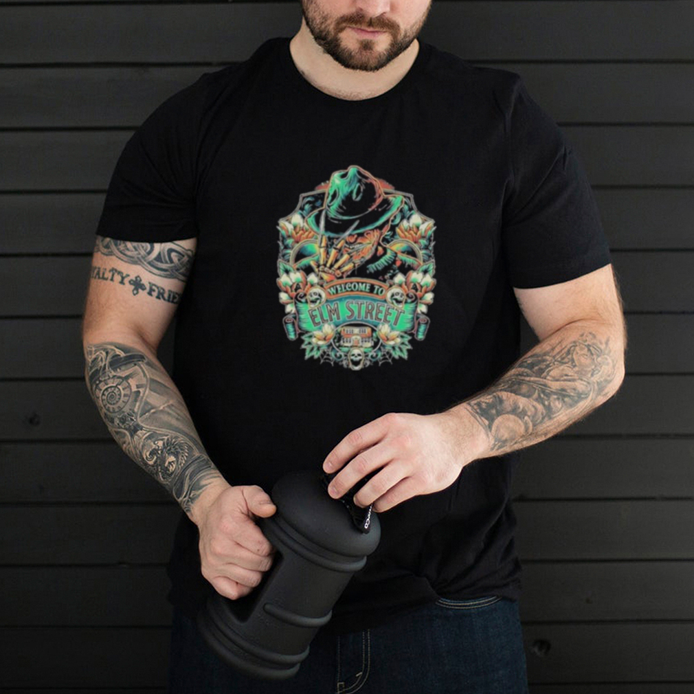 Awesome welcome To Elm Streeet Skull Shirt