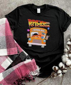 Back To School School Bus Shirt