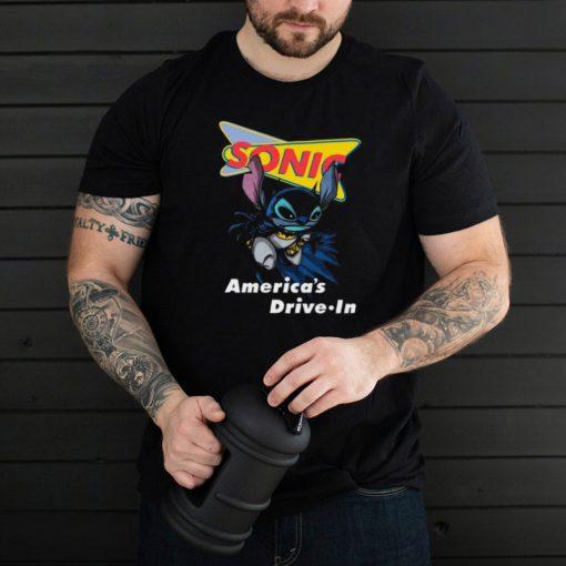 Bat Stitch Sonic Americas Drive In shirt