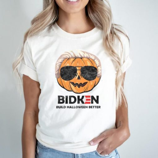 Biden Build Halloween Better Pumkin T Shirt