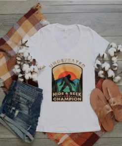 Bigfoot Undefeated Hide And Seek Champion Vintage shirt
