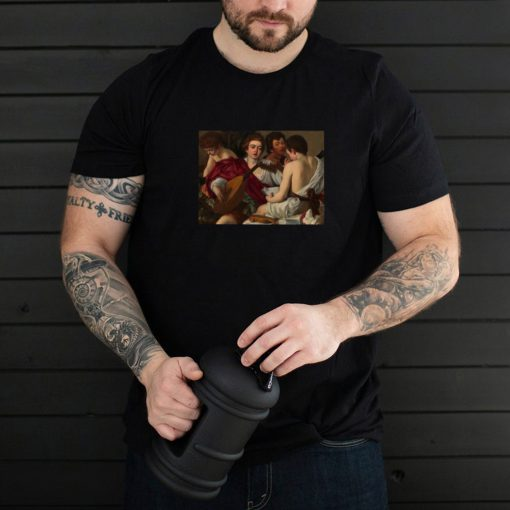 Caravaggios The Musicians Painting Lovers T shirt